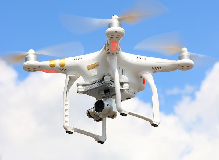 drone de son voisin