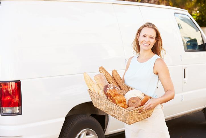 livrer le pain