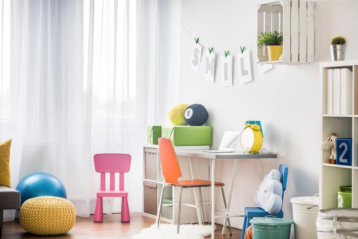 Creer Un Espace Bureau Dans La Chambre Des Enfants