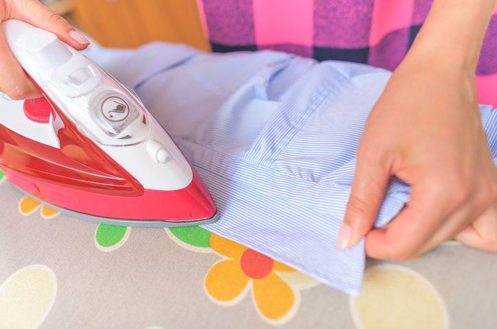 repasser les chemises