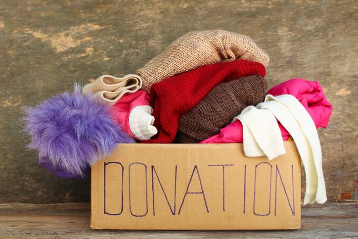Organiser une collecte de vêtements
