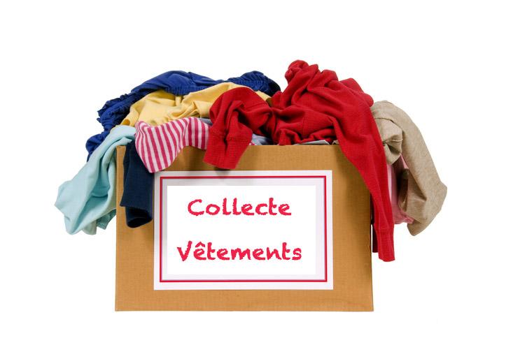 Collecte de vêtements pour les SDF